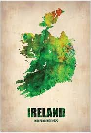 maps of ireland posters at allposters com