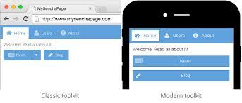 a fresh new look for ext js 6 sencha com