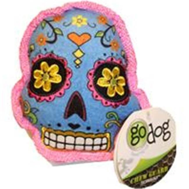 Godog Sugar Skulls with Chew Guard Small / Blue