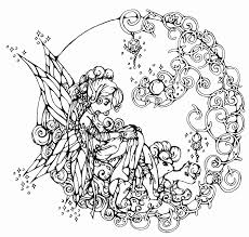 Fairy Coloring Sheet For Adults