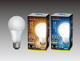 toshiba develops new heat dissipation structure for led light bulb