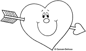 Learn Valentine Coloring Pages