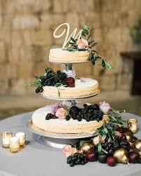 Wedding Cake Overflowing With Fruit