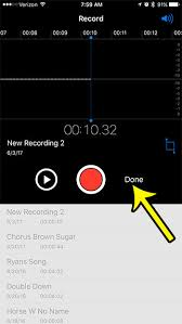How to Record a Voice Memo on an iPhone 7 Live2Tech