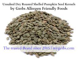 Roasted Unsalted Pumpkin Seeds Nutrition Facts by Unsalted Roasted Pumpkin Seed Kernels By Gerbs 2 Lbs Top 12