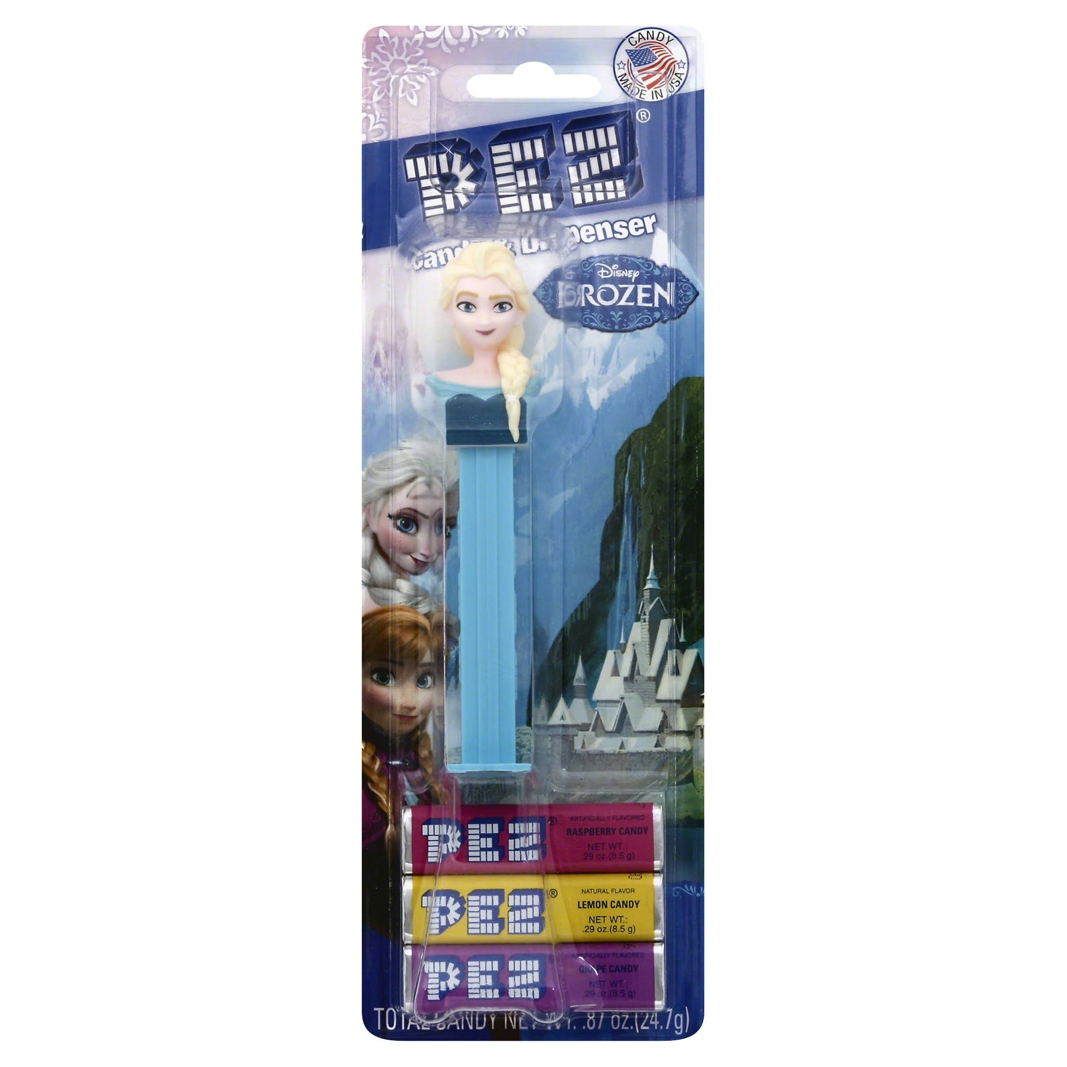 Pez Dispenser Disney Frozen Set - Elsa, Anna & Olaf