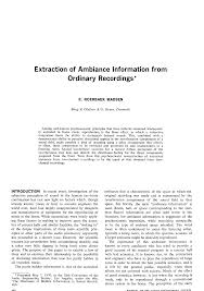 Sinking Fund Formula Derivation by Aes E Library Extraction Of Ambiance Information From Ordinary