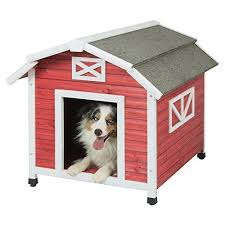 Old Red Barn Dog House For Dogs Deal Of The Day
