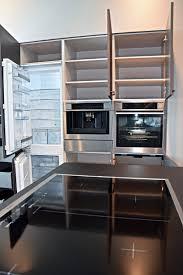 nolte u form inselküche küche in leder