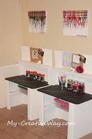 Corner Desk Organization Ideas by Best 25 Kid Desk Ideas On Pinterest Kids Homework Station Kids