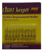 light keeper pro 12 v mini replacement bulbs clear color 10 ct ebay