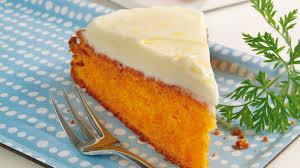 möhrenkuchen mit zitronen frischkäse glasur