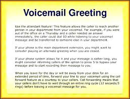 Free Phone Message Template Telephone Voice Voicemail Greetings