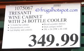 costco tresanti 24 bottle wine cooler with granite top 349 99