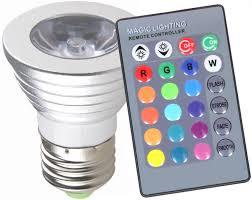Amazon iMounTEK LED Magic Light Bulb with 16 colors 3 Watts
