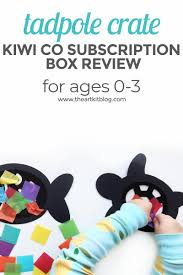 KiwiCo Review: Tadpole Crate For 0-36 Month Olds - The Art Kit Deal Free Onemonth Kiwico Subscription Handson Science 2019 Koala Kiwi Doodle And Tinker Crate Reviews Odds Pens Coupon Code 50 Off First Month Last Day Gentlemans Box Review October 2018 Girl Teaching About Color Light To Kids With A Year Of Boxes Giveaway May 2016 Holiday Fairy Wings My Honest Co Of Monthly Exploring Ultra Violet Wild West February