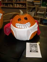 Captain Underpants Painted Pumpkin by Hces Library Pumpkin Character Contest