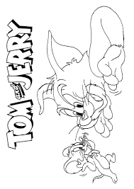 Tom And Jerry Coloring Page17