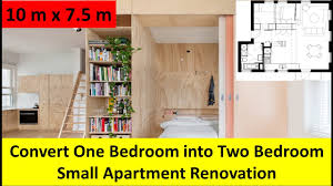 100 Small One Bedroom Apartments Convert Into Two Apartment Renovation