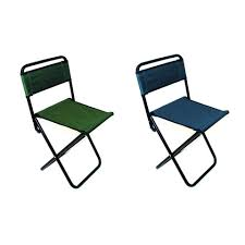 X 1 Folding Camping Fishing Chair Festival Garden Foldable Fold Up Seat  Deck 2623