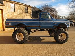 100 Muscle Trucks For Sale Muscle Cars For Sale 1972 C20 Truck 454 Auto Military Axles 7625