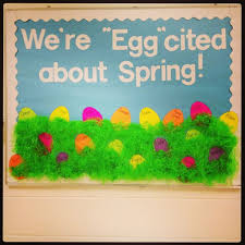 Caption Idea For Easter Spring Bulletin Board