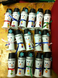 Kinds Of Christmas Tree Ornaments by K Cup Craft Snowman Ornaments Made With My Daughters Prek4 Class