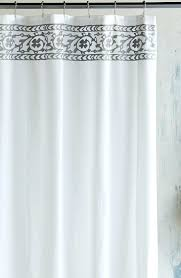Gray Linen Curtains Target by High End Shower Curtains White Ruffle Shower Curtain Shower