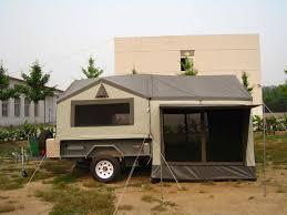 Homemade Camper Trailer Tent, Truck Camper Tent | Trucks Accessories ...