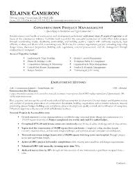 Free Resume Templates Construction Laborer Contruction Project Manager Examples Example Of A Sample Template 4