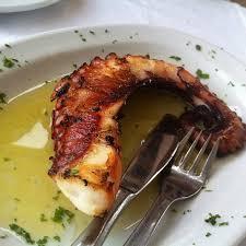cuisiner poulpe frais poulpe grillé le dimanche aux fourneaux