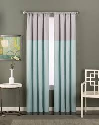 Curtains With Grommets Diy by Unusual Design Ideas Color Block Curtains 25 Best Ideas About