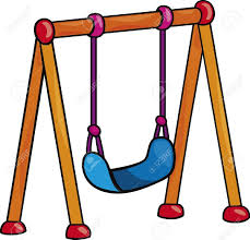 Playground clipart vector Pencil and in color playground clipart