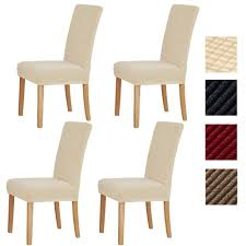 Sonnis Pack Of 4 Stretch Chair Covers,Chair Slipcovers Washable Removable  Seat Covers Elastic Protector Chairs Covers For Hotel Restaurant Wedding ... Sonnis Pack Of 4 Stretch Chair Coverschair Slipcovers Washable Removable Seat Covers Elastic Protector Chairs For Hotel Restaurant Wedding Teresting Chair Cover Chaircovers Make It Subrtex Square Knit Ding Room Good 5 Sherborne Recliner Ipirations No Corner Spandex Banquet Cover Orange Z Mid Century Modern By For Sale Cushions Surprising Faux Leather Fabric Shorty Rooms Budge Neverwet Hillside 49 In H X 28 W 27 D Tan Black And Chairbarstool Jf From Pillowcases Jackiehouchin Home Ideas Instantly Add Flair Style To Your Kitchen Or Ding Room With
