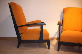 Vintage French Orange Armchairs, Set Of 2 For Sale At Pamono Pair Of Midcentury Orange Armchairs 1950s Design Market Orange Armchairs From Wilkhahn Set 2 For Sale At Pamono Benarp Armchair Skiftebo Ikea Fniture Paisley Accent Chair Burnt Living Room Great Swivel For Showing Modern Chairs Wingback Striped