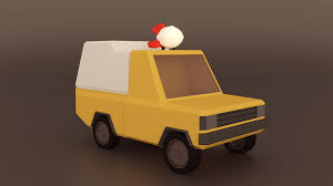 100 Pizza Planet Truck Low Poly Works In Progress Blender Artists