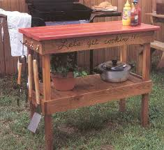 Outdoor Woodworking Projects Free by Stylish Bbq Tables Outdoor Furniture Outdoor Wood Project Plans