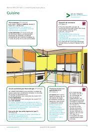 norme electrique cuisine hauteur prise de courant comptoir cuisine photos de design d