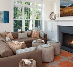 Living Room Decorating Brown Sofa by Living Room Decorating Ideas That Expand Space Freshome Com