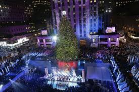 rockefeller center tree lighting dazzles millions