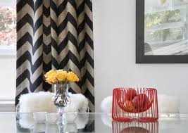 chevron pattern craze how to pull it off at home