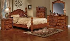 Solid Oak Bedroom Furniture Wood