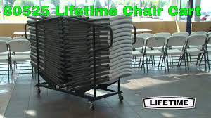Lifetime 80525 New Design 32-Chair Capacity Chair Cart Lifetime Commercial Folding Chair 201 D X 185 W 332 H Almond White Plastic Seat Metal Frame Outdoor Safe Set Of 4 With Carry Handle Ltm480372 Chairs 32 Pack 80407 Black Classic 4pack Lowes Pk 80643 480625 Contemporary 42810 Light Granite Of 6foot Stacking Table And Combo