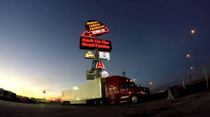 Worlds Largest Truck Stop Iowa 80 Drone Footage With Sunrise - YouTube