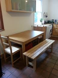 Kitchen Table And Bench Set Ikea by Bench For Kitchen Table Ikea Bench Decoration