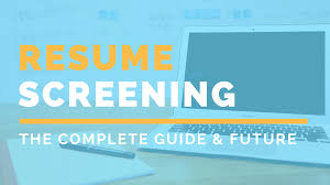 Resume Screening : A Complete Guide For Recruiters 8 Things You Need To Know About Applicant Tracking Systems 11 Precautions Must Take Before Resume Information Screening Software Avifrthebridgewestendcom The Pros And Cons Of Automated Screenings Experience A Complete Guide For Recruiters How To Beat Automated Resume Screening Workopolis Blog Cv British Save Help With Beautiful Inferences Personality Based On Job Forums Valerejobscom Ai Recruitment Future Recruiting Ivr For Cv