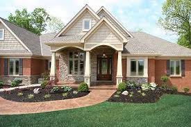 Dutch Colonial House Plans Traditional Red Brick Wall Interior