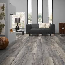 Rustic Grey Laminate Flooring With Texture For