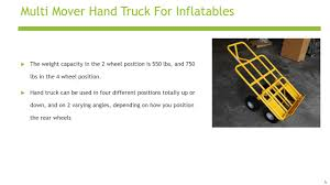 Hand Truck For Inflatables - YouTube Amazoncom Harper Trucks 700 Lb Capacity Supersteel Convertible Tiertonk Heavy Duty Large Metal Garden Cart Truck Trolley 4 4wheel Cylinder Hand With Worktable Conwin 30220 1 Piece Cosco Shifter 300 2in1 And Magline Stk8aa1 Alinum Wheel Foldable Loop Handle Folding 70 Kg155 Lbs 2 In Professional Appliance Dolly Moving American Equipment Multimover Xt Rear Shop 300lb Silver Steel At Lowescom Iron Bull Ph150 Platform H End 2232018 455 Pm