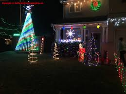 Clovis Christmas Tree Lane by Best Christmas Lights And Holiday Displays In Tracy San Joaquin